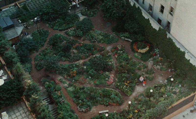 NYC Rooftop Community Garden Plan utilizing Feng-Shui principles